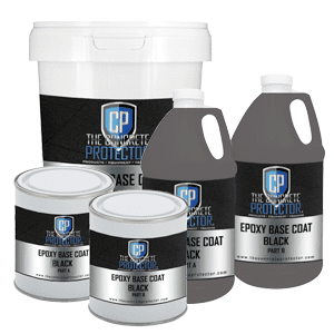 Epoxy Base Coat Black 1.5 gal Kit