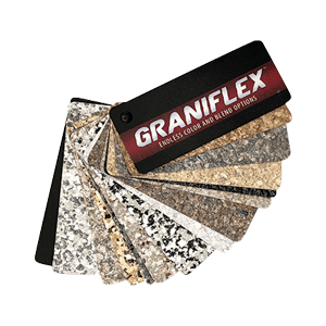 Graniflex Flake Fan Deck