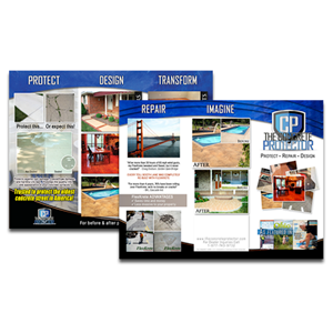 Custom Trifold Brochures - 500