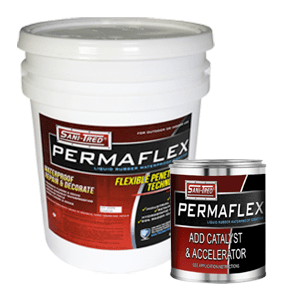 Permaflex 1qt. Dark Tan