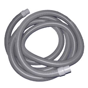 "Commercial Hose 2""x25' w/cuff"